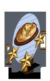 Bush Bread 3 Star Mastery Sign-icon