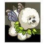 Poofy Fairy Dog-icon
