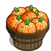 Pumpkin Orange Bushel-icon