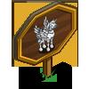 Zebra Pegacorn Mastery Sign-icon
