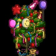 4th Birthday Party Tree-icon
