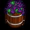 Deco barrel grape icon