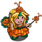 Halloween Pixie Gnome-icon