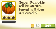 Super Pumpkin Unlocked