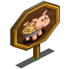 Apple Pie Pig Mastery Sign-icon