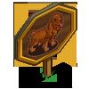 English Cocker Spaniel Mastery Sign-icon