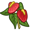 Flamingo Flower-icon