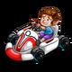 Kart Racing Gnome-icon