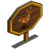 Key Deer Mastery Sign-icon