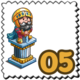 Knight Statue Stamp-icon