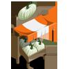 White Pumpkin Stall-icon