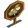 Bovine Belle Cow Mastery Sign-icon