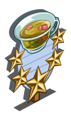Carnation Tea 5 Star Mastery Sign-icon