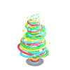 Light Trail Tree-icon