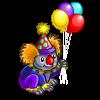 Clown Koala-icon