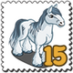 Greyfell Horse Stamp-icon