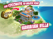 Hawaiian Paradise Villa Loading Screen
