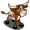 Western Longhorn Calf Sad-icon