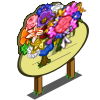Big Blossoming Tree Mastery Sign-icon