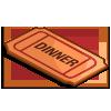 Dinner Ticket-icon