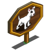 Giant Bull Terrier Mastery Sign-icon