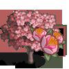Pink Plum Tree-icon