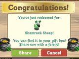 Shamrock Sheep