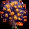 Giant Fire Orange Tree-icon
