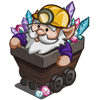 Mine Cart Gnome-icon
