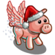 Winged Gift Piggy-icon