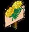 Yellow Marigold Mastery Sign-icon