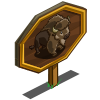 American Bison Mastery Sign-icon