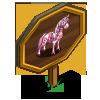 Cherry Blossom Horse Mastery Sign-icon