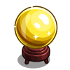 Golden Crystal Ball-icon