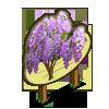 Japanese Wisteria Tree Mastery Sign-icon