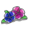 Stained Glass Pansy-icon