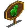 Alien Unicorn Mastery Sign-icon