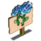 Blue Glass Rose Mastery Sign-icon