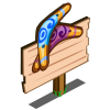 Boomerang Mastery Sign-icon