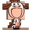 Cow Costume-icon