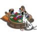 Dogs Playing Cards-icon