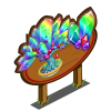Rainbow Prism Bonsai Tree Mastery Sign-icon