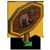 Broken Heart Bear Mastery Sign-icon