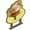 Giant Fall Cupcake Tree Mastery Sign-icon