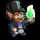 Green Magic Gnome-icon