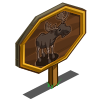 Moose Bull Mastery Sign-icon