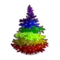 Rainbow Fir Tree-icon