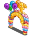 4th Birthday Banner Arch-icon