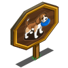 Fetching Beagle Mastery Sign-icon