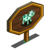 Kelly Green Cow Mastery Sign-icon